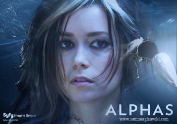 Summer glau as Skylar Adams in Syfy's Alphas